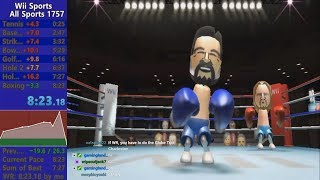 *World Record* Wii Sports All Sports speedrun in 8:23