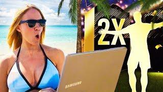 2 informs in 1 bikini pack opening! | fifa 18 ultimate team