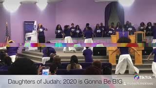 Past Mike Jr BIG: Daughters of Judah Praise Dance