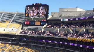 LSU and South Carolina pregame 2015