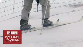 Норвегия  военные США учатся ездить на лыжах в Заполярье