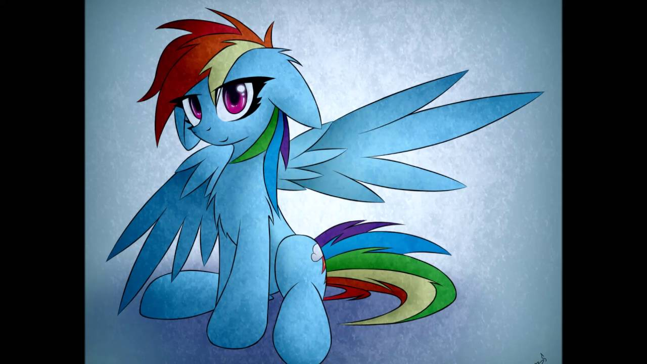 Mlp Fim Rainbow Dash Or Robot Unicorn Youtube