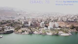 ISRAEL 70 - TIBERIAS  MAVIC PRO & PHANTOM  4K SHOTS by OREN BUTA