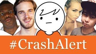 #CrashAlert: PewDiePie vs Leafy, RiceGum, KSI, Zoie Burgher, Scarce, h3h3, iDubbbz, GradeA & MORE!