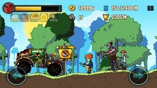 Zombie Road Racing Android Gameplay