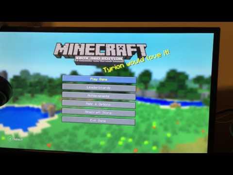 Вопрос: Как обновить Minecraft для версии Xbox 360?