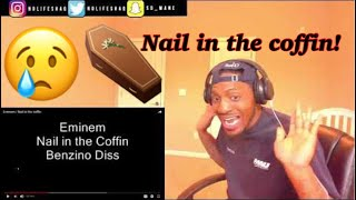 Nobody wants to hear their Grandfather Rap! | Eminem  - Nail in the coffin | REACTION