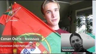 Reaction video Canon Osiris - Telemoveis Portugal Eurovision 2019