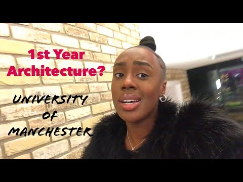 VLOG: FIRST YEAR ARCHITECT AT UNIVERSITY OF MANCHESTER | CHANTÉ B GITTENS