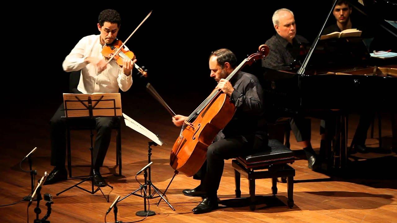 Mendelssohn Trio Op. 49 4/4 Rechtman Sussmann Hoffman