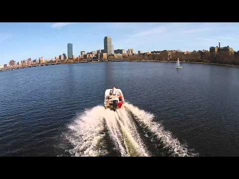 Charles River Drone Footage
