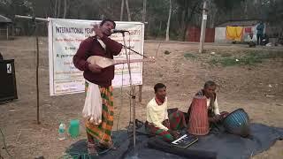 Naren Hansda in Jangal Mahal (awareness campaign)