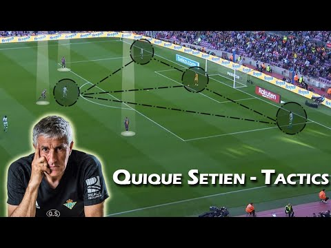 Quique Setien | Tactical Profile | Tactics of Quique Setien