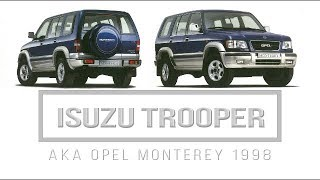 Isuzu Trooper MK3 Aka Opel Monterey | 4X4 SUV | 1998 German | Prospekt