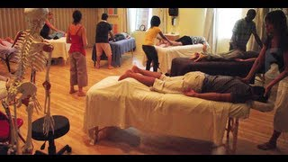 educating hands massage school with iris burman director l m t n m t
