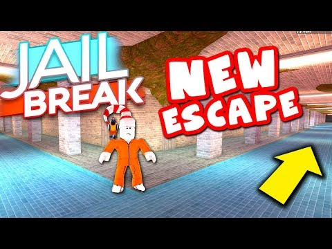 THIS IS THE NEW JAILBREAK ESCAPE *SEWER SYSTEM*