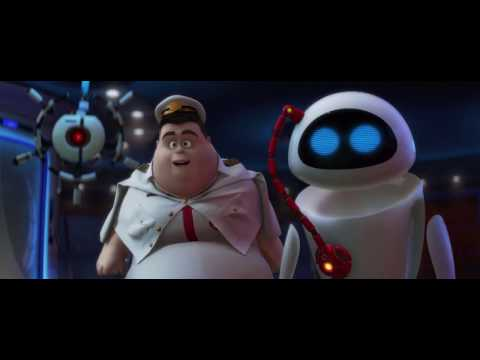 The whole of Wall-E but only Eve and Wall-E are spoken