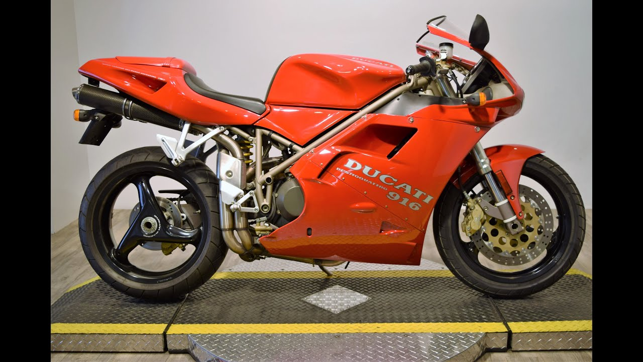 1997 ducati 916 desmoquattro for sale at monster powersports - youtube