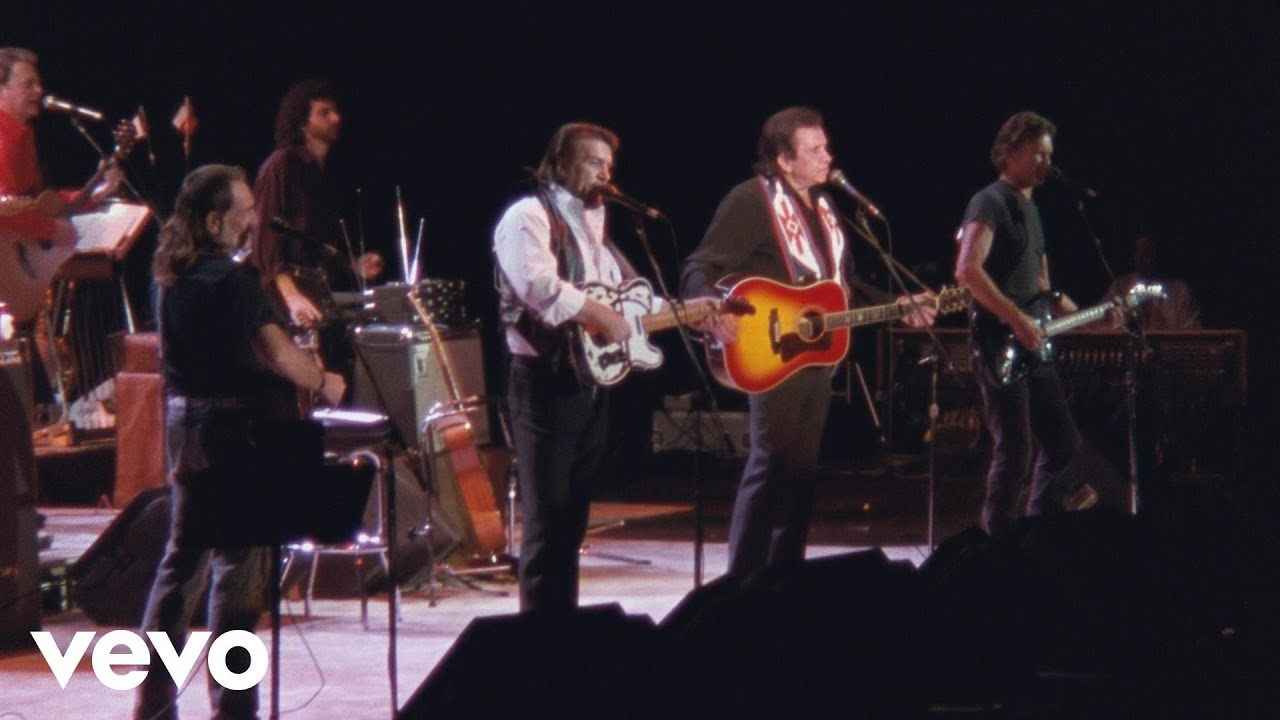 Desperados Waiting For A Train American Outlaws Live At Nassau Coliseum 1990 Youtube