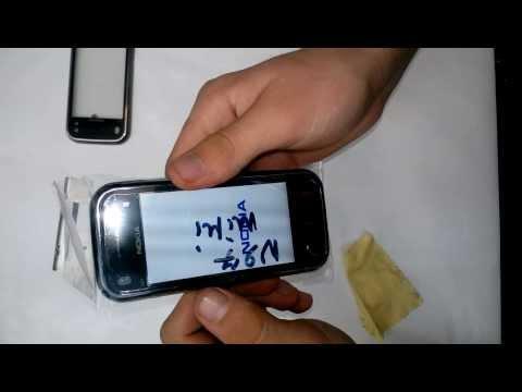22. Разбор Nokia N97 mini, как поменять тачскрин?