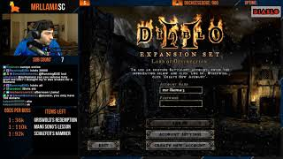 Diablo 2 - LADDER RESET - Full run first Ubers