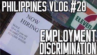 Philippines Vlog #28 Employment Discrimination