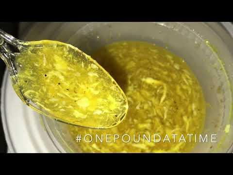 Liquid Diet Meal | Breakfast | Egg Drop Soup