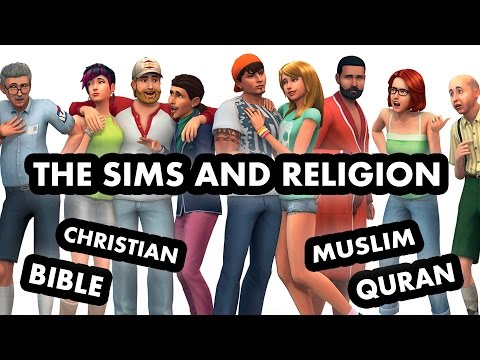 Sims 4 and religion: Christianity and the Islam