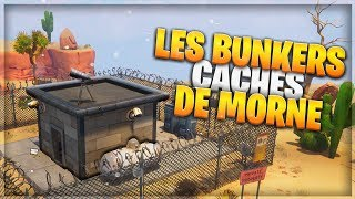 BUNKERS CACHE MORNE THE VALLEE - FORTNITE SAUVER THE WORLD