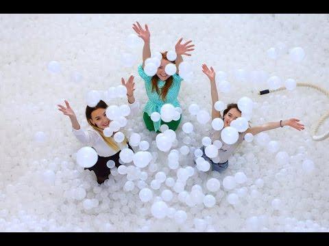 DRY POOL. Сухой бассейн с шариками. Батут. Развлекательный комплекс Ярославль. | Contrast Studio.