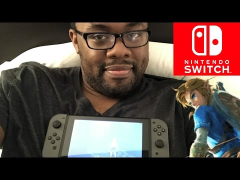 NINTENDO SWITCH TRAVEL TEST - My First Trip with #NintendoSwitch