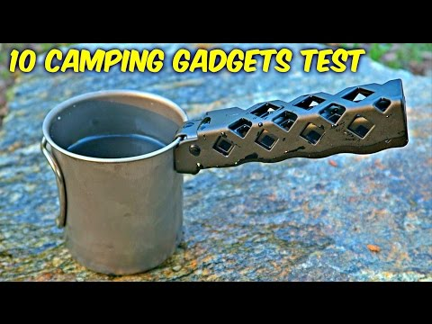 Thumbnail: 10 Camping Gadgets put to the Test - Part 5