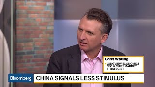China's Done Enough to Turn Global Economy Upwards, Longview CEO Says
