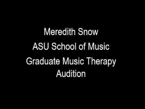 ASU School of Music audition