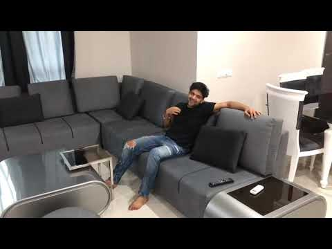 guru randhawa chilling at home youtube. Black Bedroom Furniture Sets. Home Design Ideas