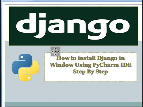Django installation in
