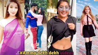 Amma dekh dekh tera latest tik tok vidoes | Viral tiktok funny videos [December]