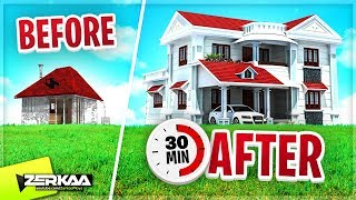 RENOVATING A HOUSE IN 30 MINUTES CHALLENGE! (House Flipper #8)