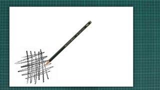 "Nuevo CURSO de dibujo a lápiz Cap. 1 ""Uso adecuado del lápiz, tipos de lápiz, calidades de líneas,"