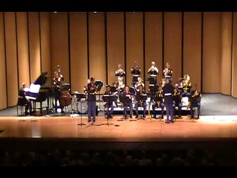 Afternoon in Harlem (Ken Ebo) performed by the Quantico Marine Corps Big Band