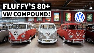 Gabriel Iglesias is the VW Bus King -  Who Knew?? Fluffy's Garage Tour