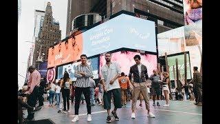 Reik desde NYC con el Billboard de Viva Latino - Spotify