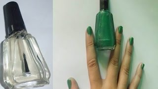 Como Fabricar Esmalte de Colores,PINTURA DE UÑAS FACIL/DIY Howto Make NAIL POLISH COLOR Thumbnail