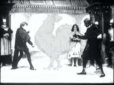 1899 Hamlet, the Fencing Scene with Laertes - YouTube