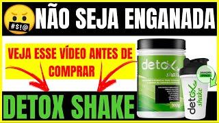 Detox Shake / Como Tomar Perder Gordura Abdominal Em 1 Semana