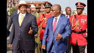 Rais Magufuli na Rais Museveni Wazindua Kwa Kishindo Bomba la Mafuta