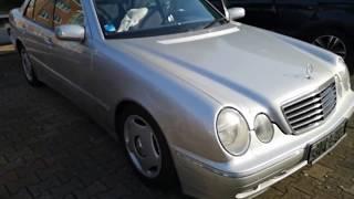 Zobacz Mercedesa w cenie smartfona E-klasa Diesel od dziadka z Niemiec