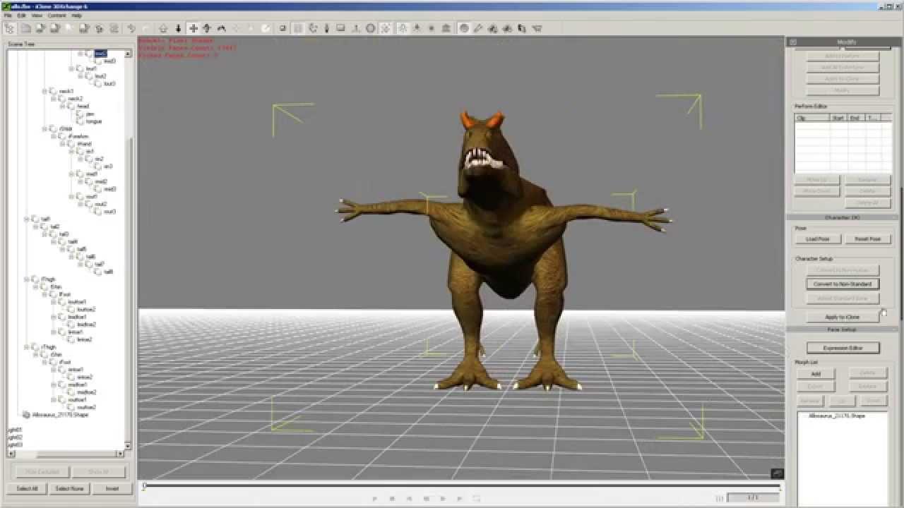 Renderosity, Poser & Daz Characters to iClone 6 via 3DXchange 6