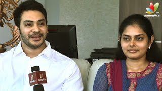 Newly married Actor Sethu and Uma Interview | Vaaliba Raja Movie | Santhanam