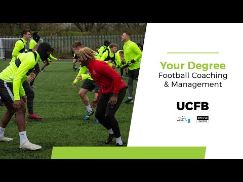 BA (Hons) Football Coaching & Management at UCFB